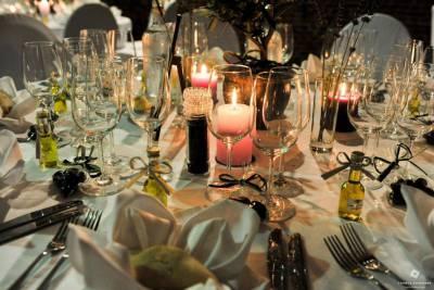 décoration de table soirée de mariage