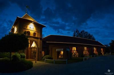 Le colombier de nuit à Wicres