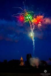 feux d'artifice à la Chanterelle à Verlinghem