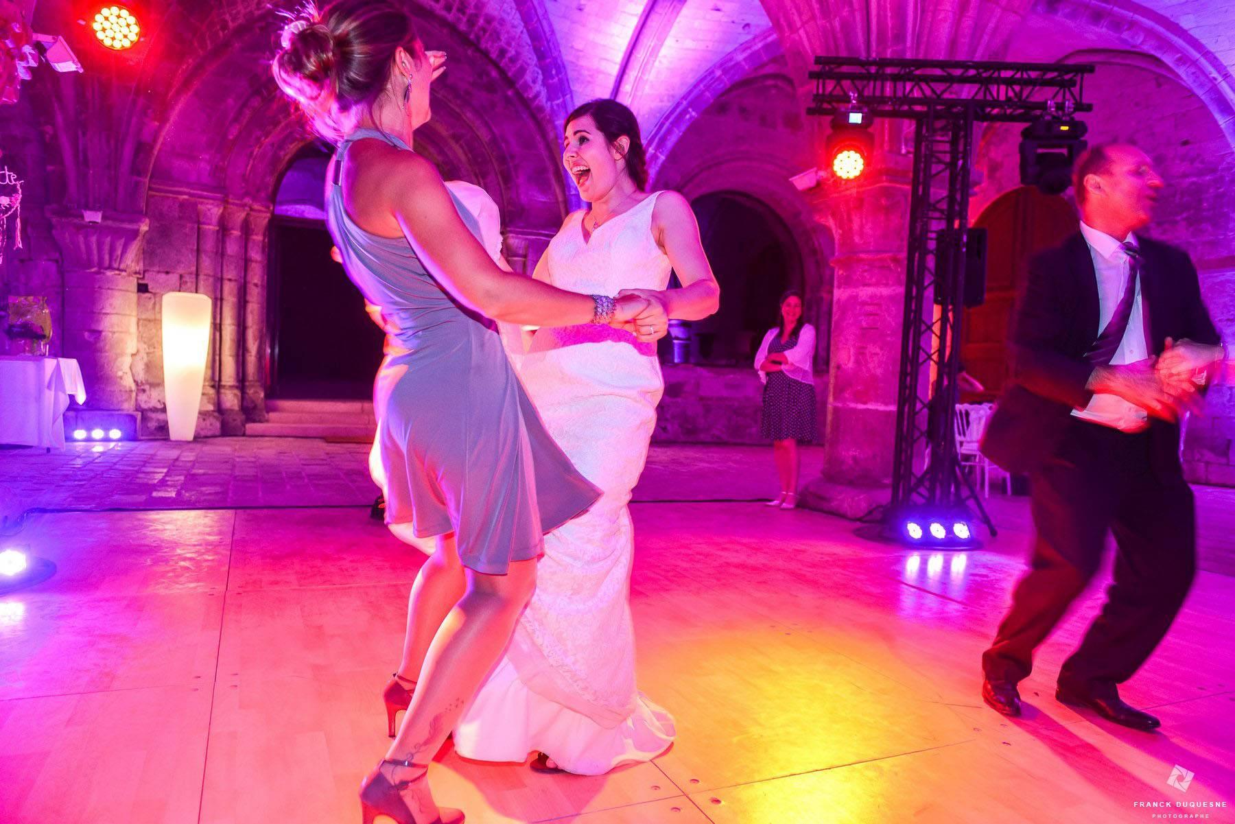 Soirée de mariage Abbaye de Vaucelles