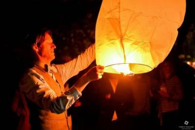 lanterne chinoise en soirée de mariage