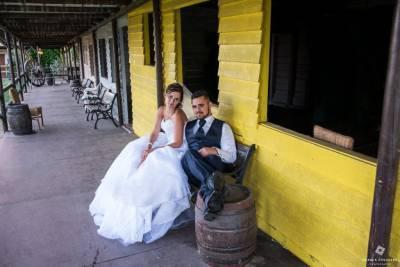 mariés style western