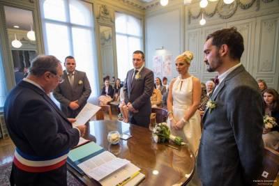 mariage civile à la mairie de Lambersart