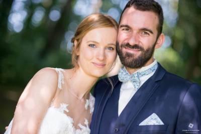 photo de mariage avec bokey