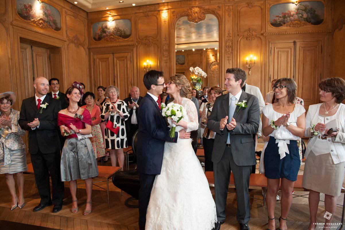 Mariage à la mairie d'Amiens