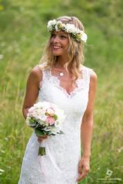 mariée champètre