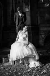 mariés devant la cathédrale Notre-Dame-de-la-Treille Lille