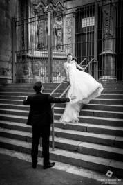 mariés à La cathédrale Notre-Dame-de-la-Treille