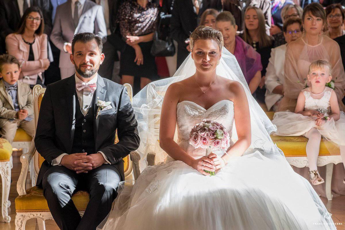 Mariage à la mairie d'Arras